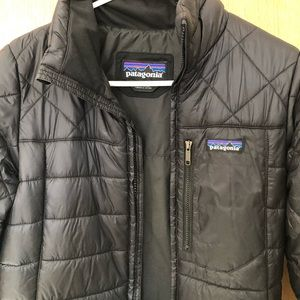 XS women's Patagonia long down jacket